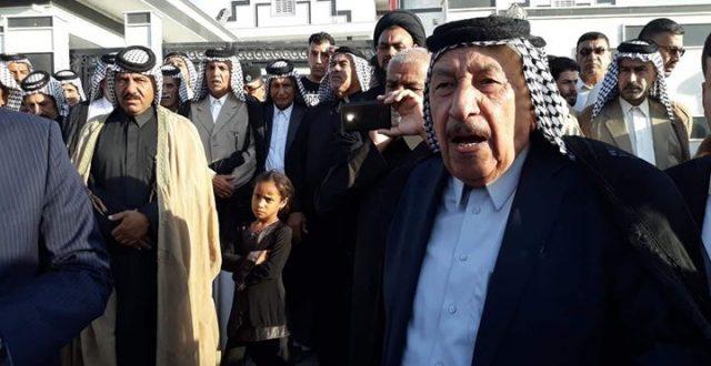 تم رفض دعوة رئيس الوزراء الموجه الى  جناب الشيخ تكليف عبدعلي دانه شيخ عام عشائر الجبور  في الفرات الاوسط