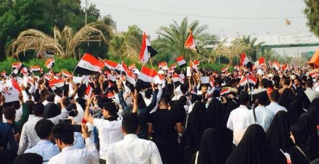 من جديد .. استمرار الظاهرات طلابية في ديالى