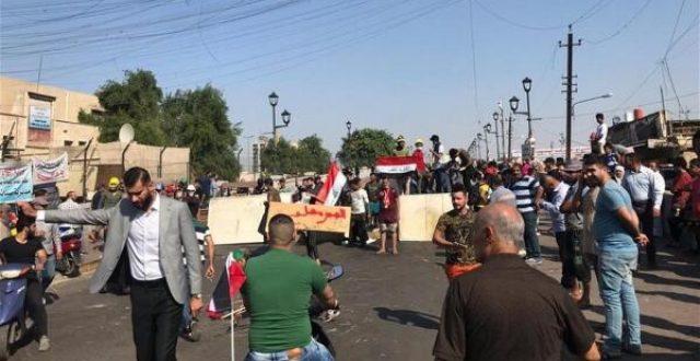 متظاهرو ساحة التحرير يصدرون جريدة تتضمن مطاليب عدة