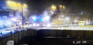 قطع الشوارع الرئيسية المؤدية لمطار النجف الآن ...!