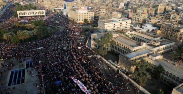 توافد غير مسبوق الى ساحة التحرير اليوم