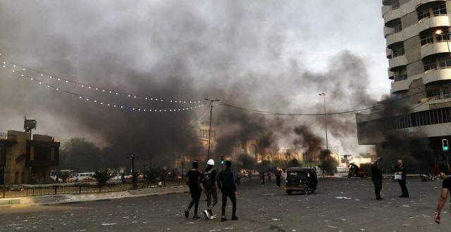 غلق ساحة الخلاني لمنع وصول موظفي امانة بغداد