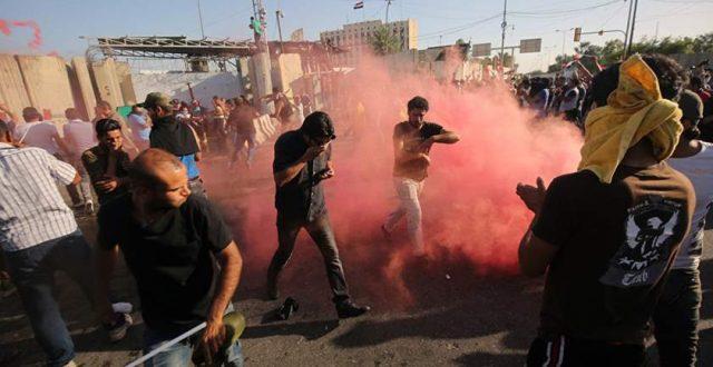 مفوضية حقوق الانسان تنشر احصائية جديدة عن الاحتجاجات الشعبية في البلاد