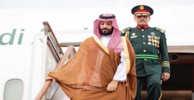 محمد بن سلمان يصل الإمارات في زيارة رسمية