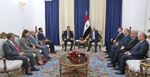 صالح يؤكد لمفوضية حقوق الإنسان اهمية متابعة قضايا شهداء ومصابي ومعتقلي التظاهرات