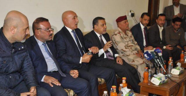 محافظ بغداد يعلن المباشرة باكساء اللطيفية بعد الانتهاء من مشروع المجاري
