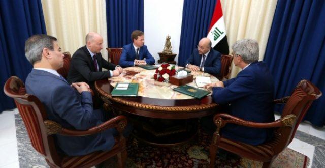 برهم صالح:يستعرض مع سفراء بريطانيا وألمانيا وفرنسا التطورات السياسية