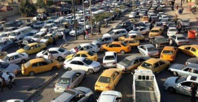 المرور تكشف أسباب الزخم المروري وسط مناطق بغداد