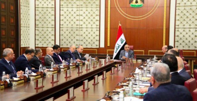 قرارات مجلس الوزراء لجلسة اليوم الثلاثاء