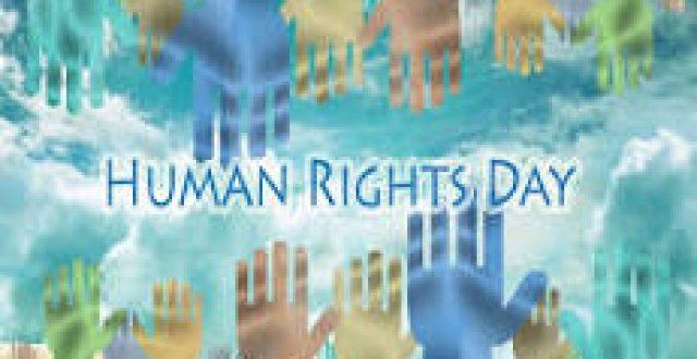 العاشر من كانون الاول هو اليوم العالمي لحقوق الانسان