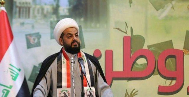 الخزعلي بشأن تظاهرات يوم غد: هناك تخطيط مخابراتي لاحداث الفوضى في بغداد