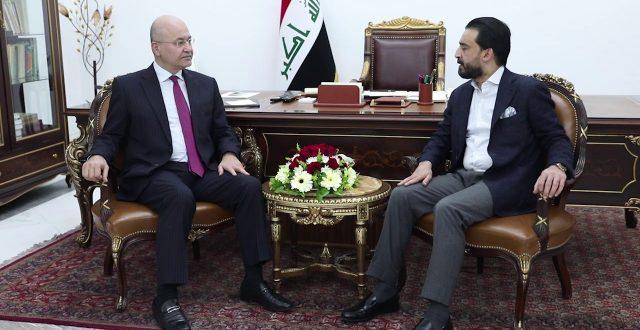 نائب: رئيس البرلمان سلم برهم صالح كتاباً بشأن الكتلة الأكبر وحدد كتلة تحالف البناء