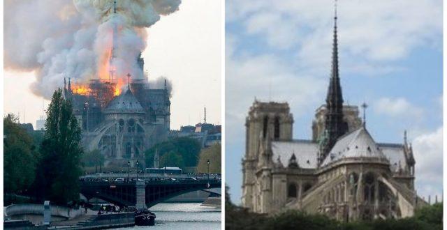 بسب ماحدث من حرائق فيها..لاول مرة في تاريخها لن تشهد كاتدرائية نوتردام احتفالات أعياد الميلاد