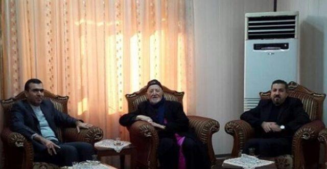 القنصل الايراني يبحث مع اسقفي السليمانية وكركوك وضع المسيحيين في العراق