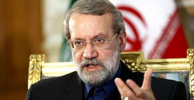 رئيس مجلس الشورى الإيراني: لسنا قلقين بشأن العراق في ظل وجود المرجع السيستاني