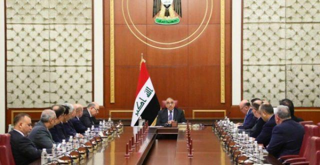 عبد المهدي يعلن استمرار عمله لحين تشكيل الحكومة المقبلة