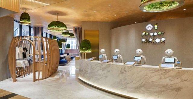 افتتاح مقهى في اليابان جميع العاملين فيه من الروبوتات