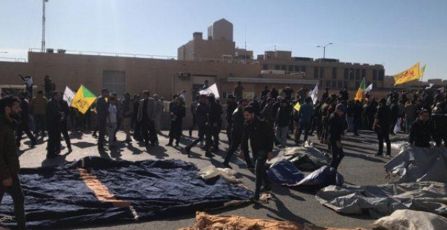 عاجل السفارة الامريكية تصدر تحذيراً لمواطنيها في بغداد