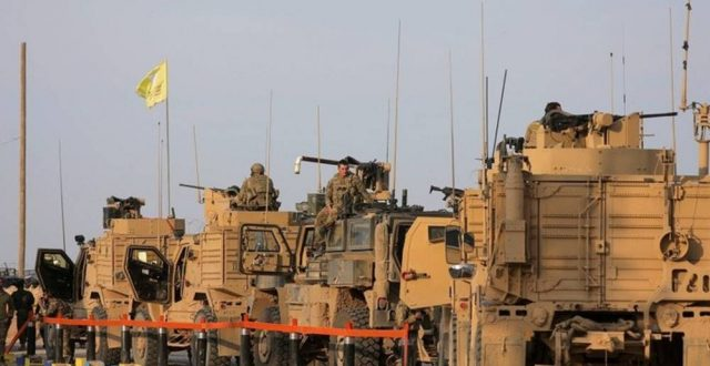 عبور قافلة عتاد أمريكية تضم 30 شاحنة الحدود العراقية السورية باتجاه الحسكة