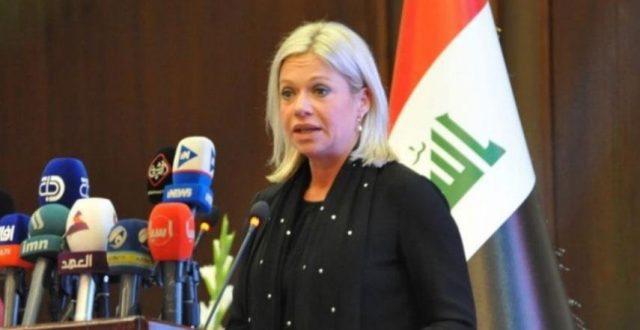 الممثلة الأممية في العراق تعبّر عن قلقها إزاء استمرار انتهاك حقوق الإنسان