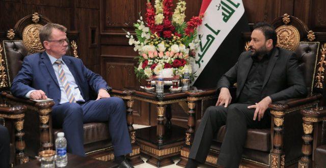 الكعبي: قرار إجلاء القوات الأجنبية من العراق سيسمح للحكومة بإعادة النظر بالتعاون العسكري مع الدول الصديقة مستقبلا