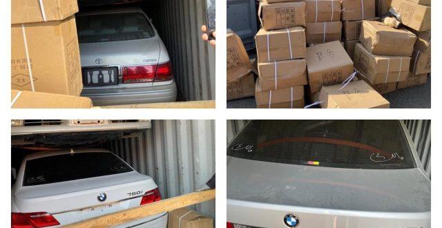 ضبط 35 سيارة مخالفة لشروط الاستيراد معدة للتهريب في ام قصر الشمالي 