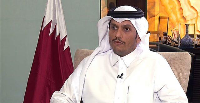 وزير الخارجية القطري يصل  بغداد