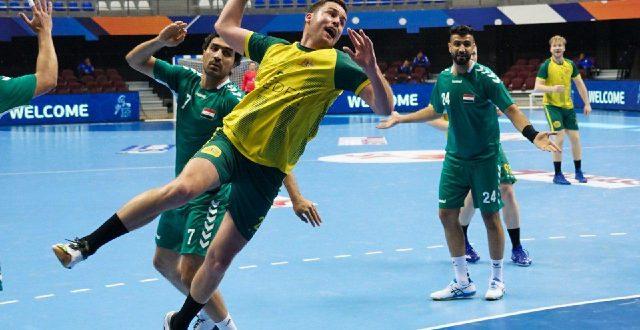 العراق يحقق فوزه الثالث في بطولة آسيا لكرة اليد