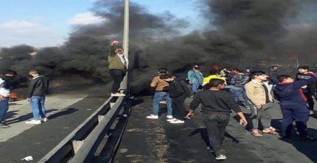 """شرطة ديالى تحدد """"الفلاحة"""" موقعا للتظاهرات وتأمر بمنع الاحتكاك مع المتظاهرين"""