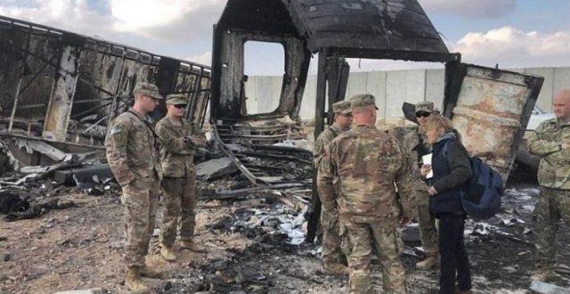 الجيش الأمريكي يقرّ بإصابة عدداً من جنوده بالهجوم الإيراني على عين الأسد