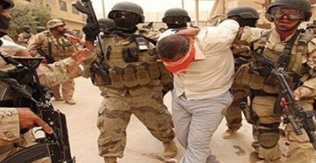 جهاز مكافحة الارهاب يلقي القبض على المسؤول الامني لعصابات داعش الارهابية لقاطع الفلوجة