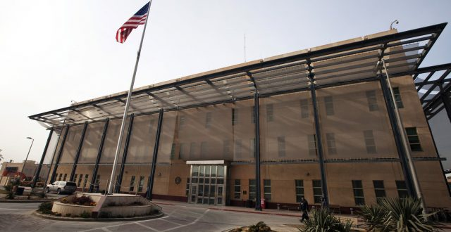 السفارة الأمريكية في بغداد تفعل منظومتي الإنذار والدفاع الصاروخي الخاصتين بها