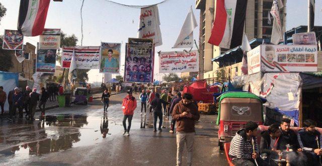 بغداد.. هدوء وحذر والمتظاهرون يستعيدون السيطرة على ساحة التحرير