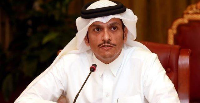 وزير الخارجية القطري: نؤكد دعمنا لسيادة العراق ووحدة اراضيه