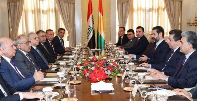حكومة كردستان تكشف بسبب زيارة عبد المهدي وتحدد أهم صفتين برئيس الوزراء المقبل