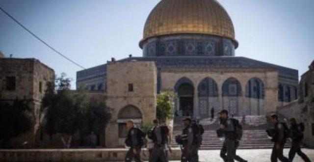 السلطات الإسرائيلية تغلق المسجد الأقصى وأبواب البلدة القديمة في القدس