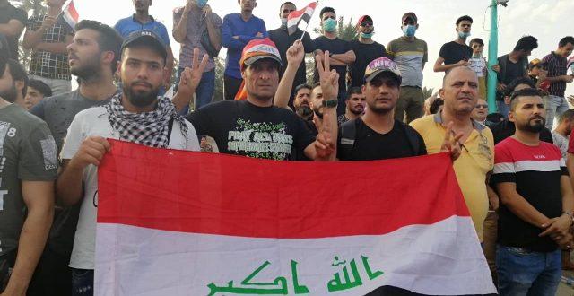 الديوانية.. محتجون يغلقون عدداً من الدوائر الحكومية تنفيذاً لقرارهم بالأضراب العام