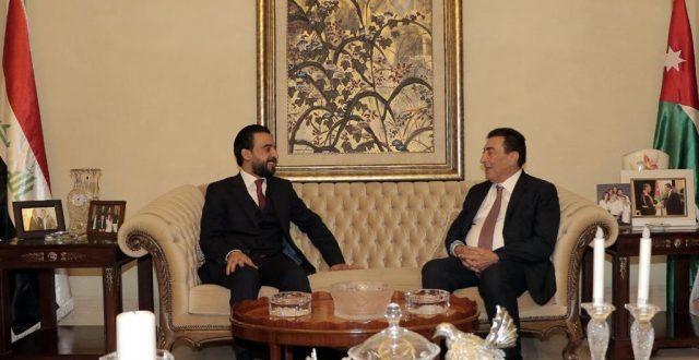 رئيس مجلس النواب يلتقي نظيره الأردني