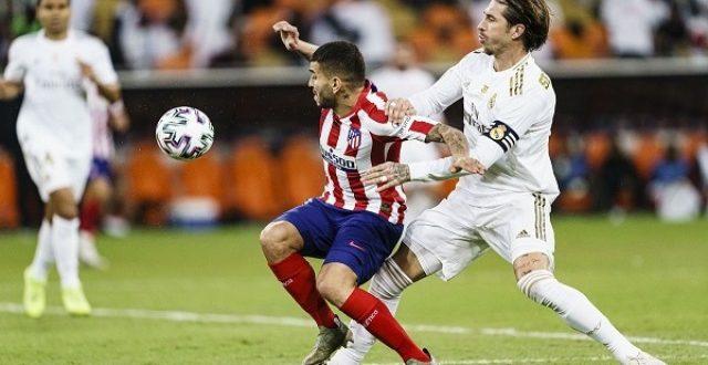 اليوم .. ريال مدريد يواجه أتلتيكو في ديربي العاصمة.. موعد المباراة والقنوات الناقلة