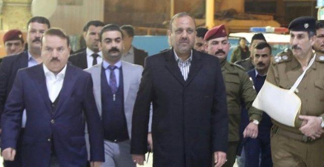 وزير الداخلية يأمر بحماية متظاهري النجف وتأمين ساحتهم