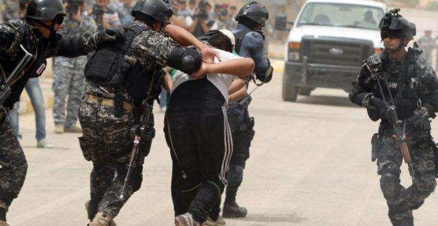 اعتقال ما يسمى آمر أحدى المفارز العسكرية لداعش في بغداد