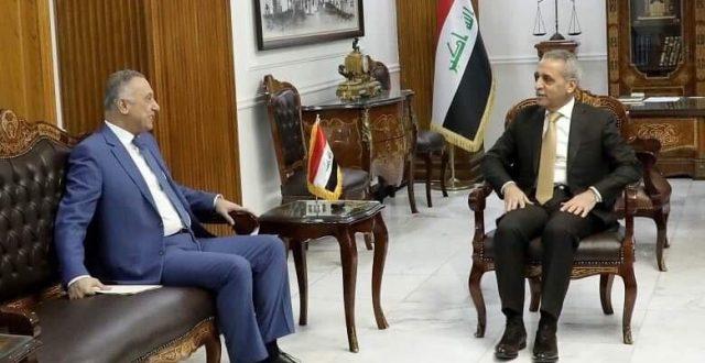 رئيس القضاء يبحث مع الكاظمي مشروع قانون جهاز المخابرات الوطني