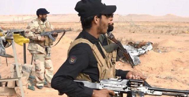 الحشد الشعبي ينشئ نقاطا أمنية منتظمة لتأمين محيط القائم والحدود مع سوريا