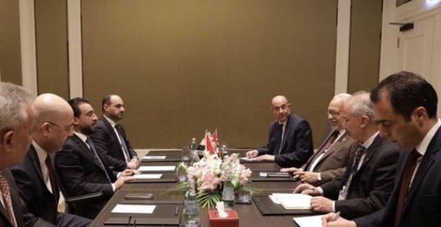 الحلبوسي يؤكد لنظيره التونسي موقف العراق الثابت من القضية الفلسطينية
