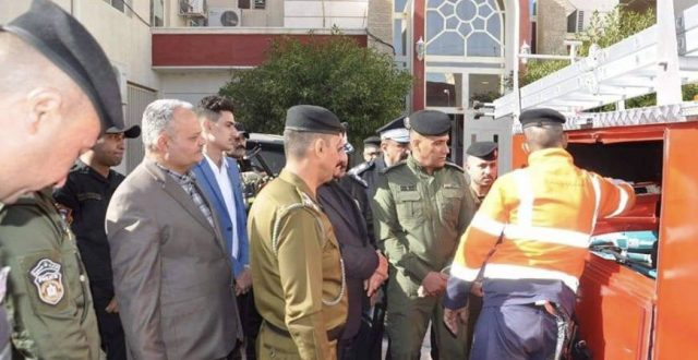 في العراق فقط.. تحويل بك آب الى عجلة إطفاء بعددها وعدتها !