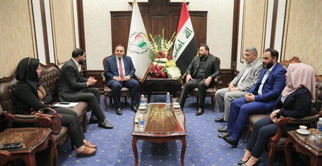 الكعبي يطالب محافظة بغداد ووزارة المالية بتوضيح أسباب عدم التعاقد مع المحاضرين