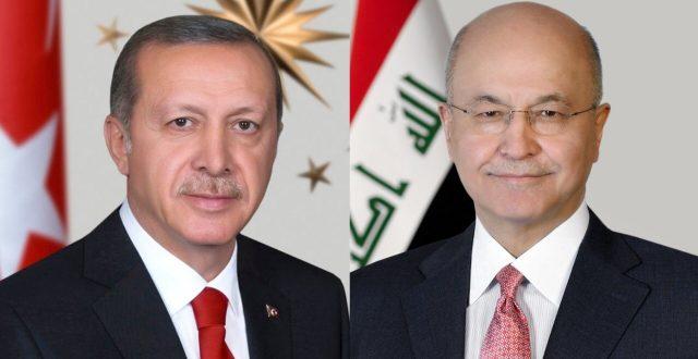 رئيس الجمهورية يتلقى اتصالاً هاتفياً من الرئيس التركي