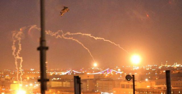 الإعلام الأمني تصدر بياناً بشأن الصواريخ التي استهدفت المنطقة الخضراء