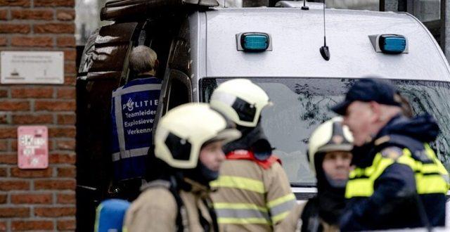 انفجار داخل بنك في مدينة أمستردام الهولندية