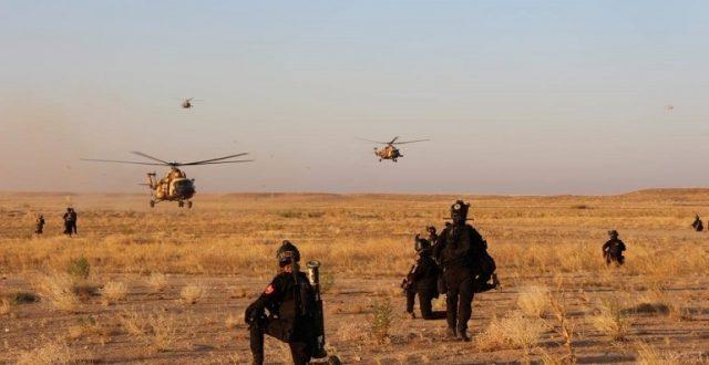 مكافحة الإرهاب ينفذ عملية إنزال على اهداف مهمة من باقيا داعش في جبال محكول